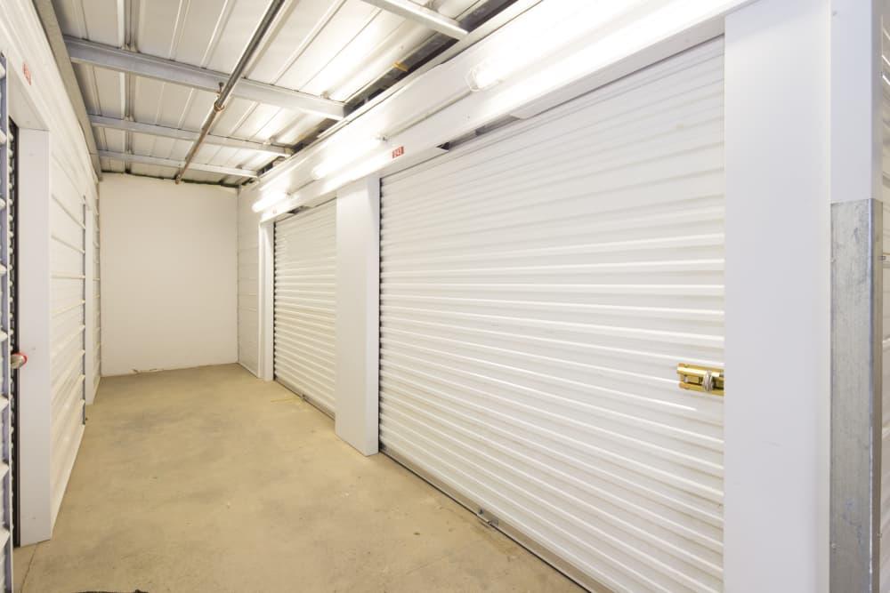 Interior units at Trojan Storage in Elk Grove, California