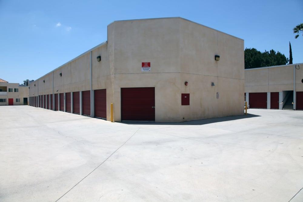 Outdoor units at Trojan Storage in Ontario, California