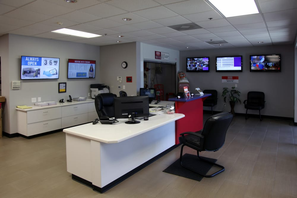 Front offices at Trojan Storage in Oxnard, California