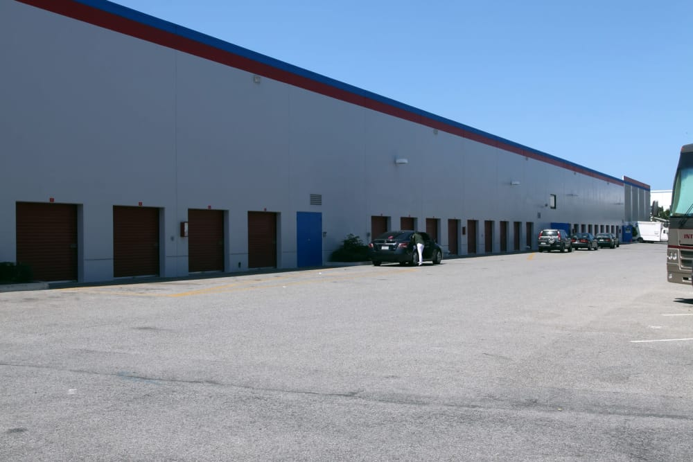 Exterior units at Trojan Storage in Oxnard, California