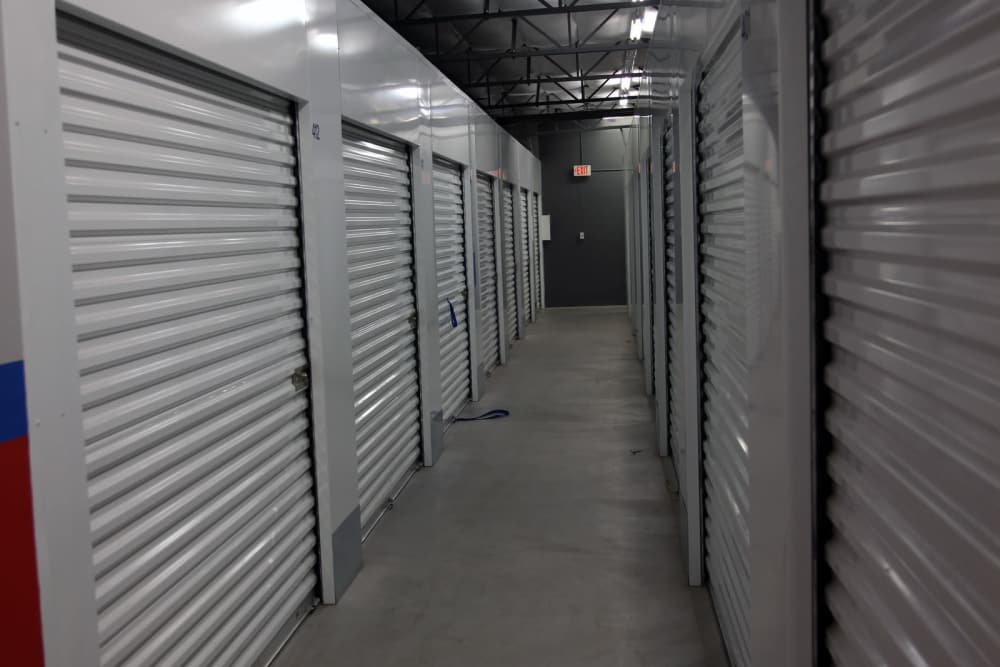 Climate-controlled storage at Trojan Storage in Oxnard, California