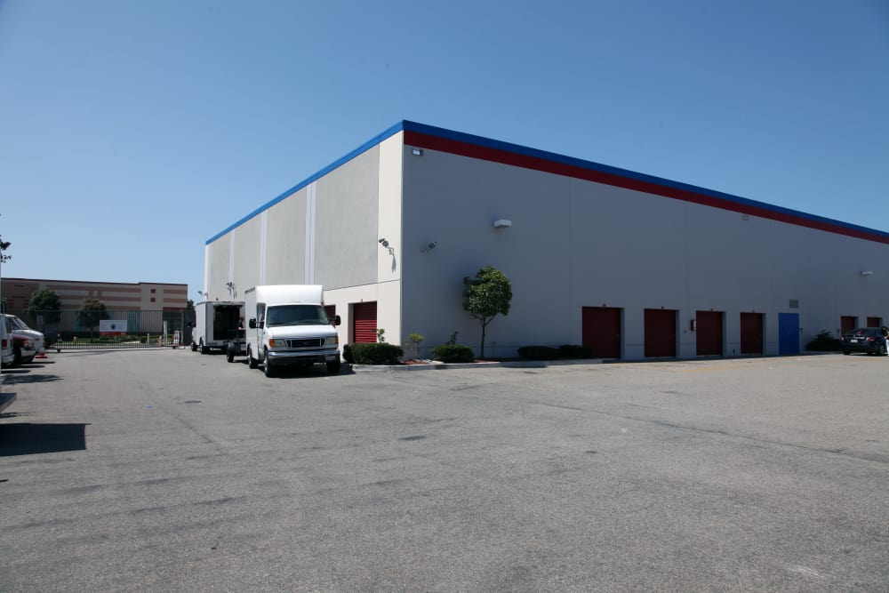 Outside Storage at Trojan Storage in Oxnard, California