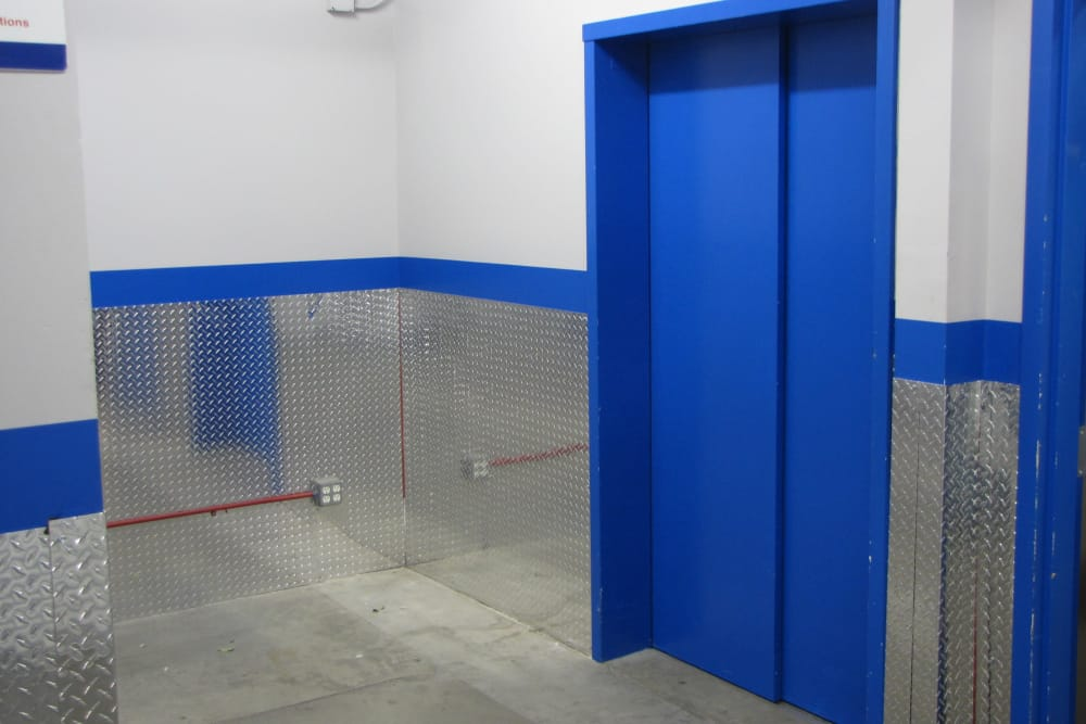 Elevators at Trojan Storage in Oxnard, California
