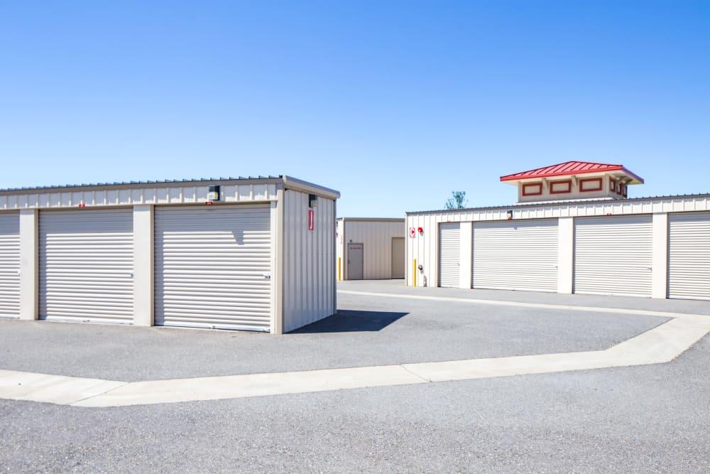 Exterior units at Trojan Storage in Rocklin, California
