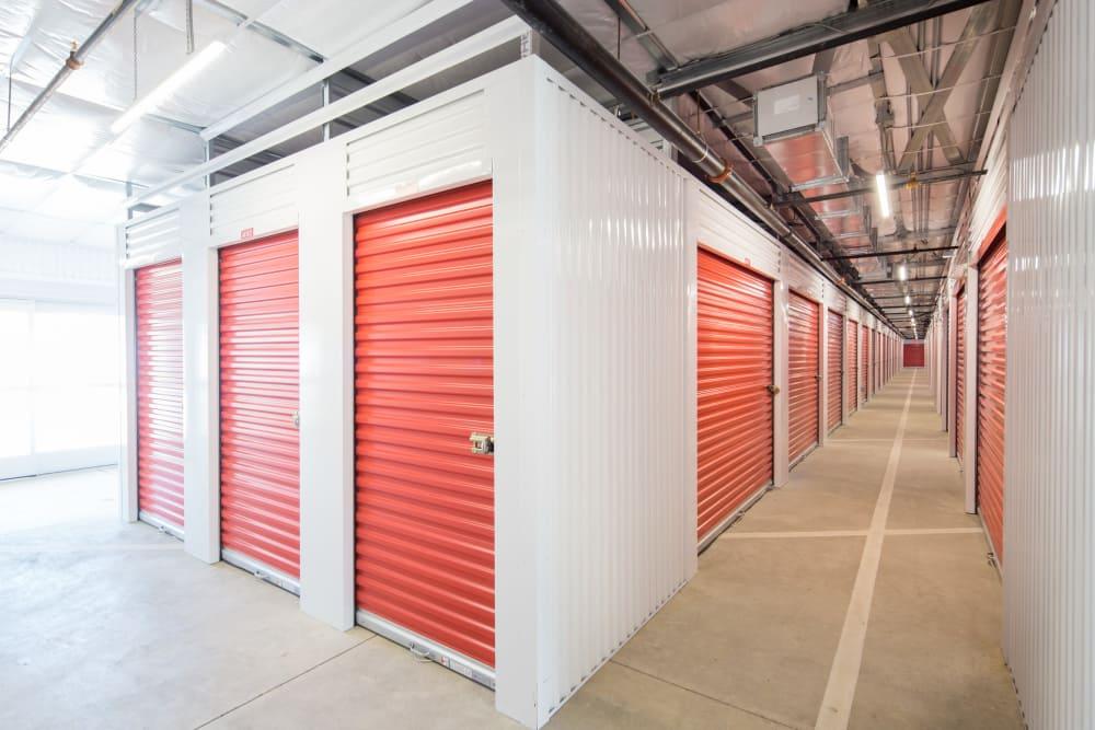 Interior units at Trojan Storage in Rocklin, California