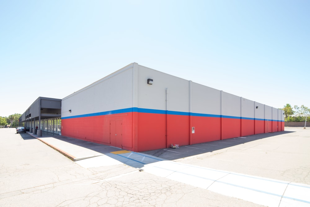 Ample parking at Trojan Storage in Sacramento, California