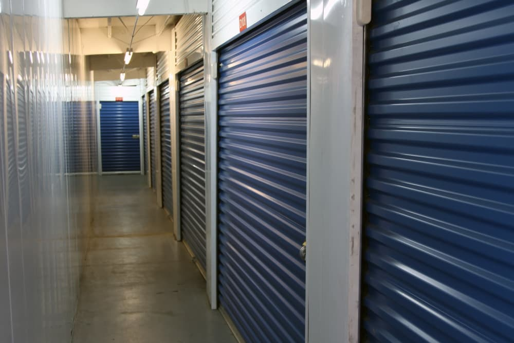 Climate-controlled units at Trojan Storage in Ontario, California