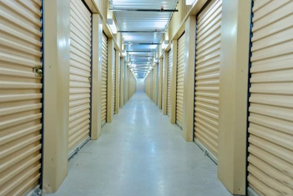 Interior units at Trojan Storage in Youngtown, Arizona