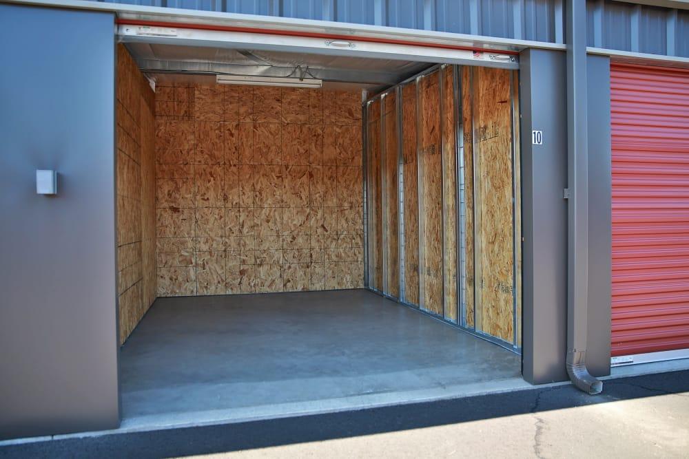 Outside storage unit at Nest Self Storage in Salem, Oregon