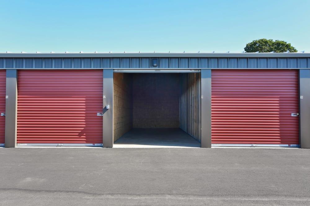 Front of Storage Units at Nest Self Storage in Salem, Oregon