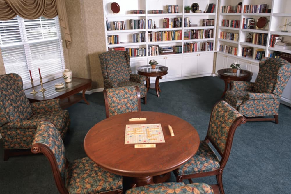 Franciscan Health Care Center's library in Louisville, Kentucky