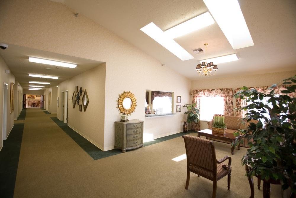 Glen Ridge Health Campus lobby in Louisville, Kentucky