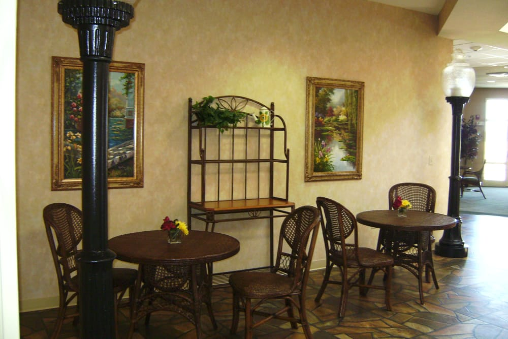 Town Square Bistro at RiverOaks Health Campus in Princeton, Indiana