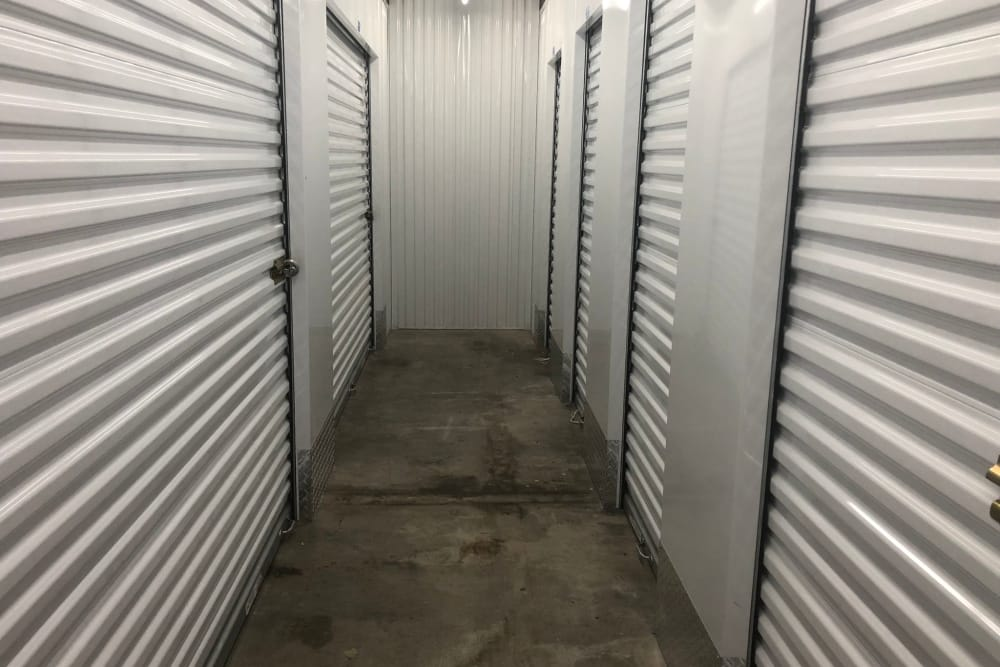 Indoor units available at Top Self Storage - North Lauderdale
