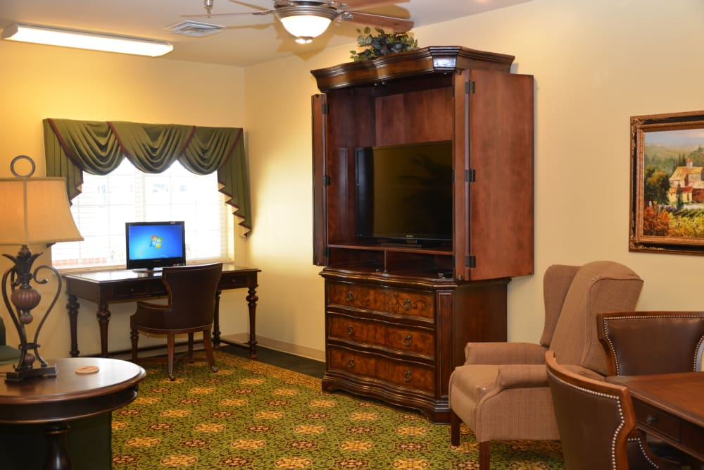 Spacious private suite at Hearthstone Health Campus in Bloomington, Indiana