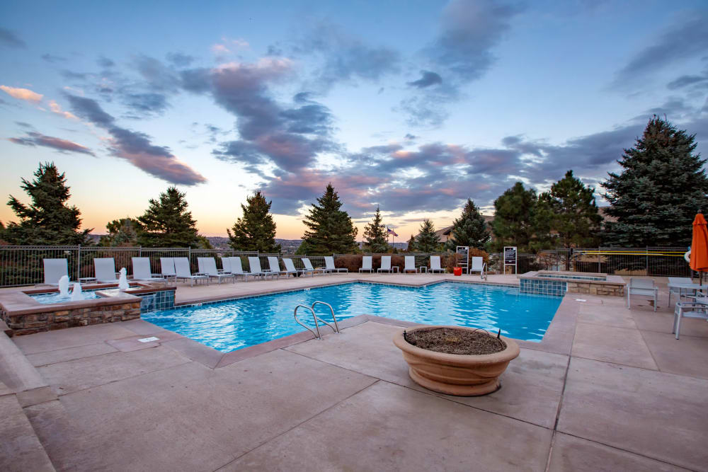 Swimming Pool at Resort at University Park in Colorado Springs, Colorado