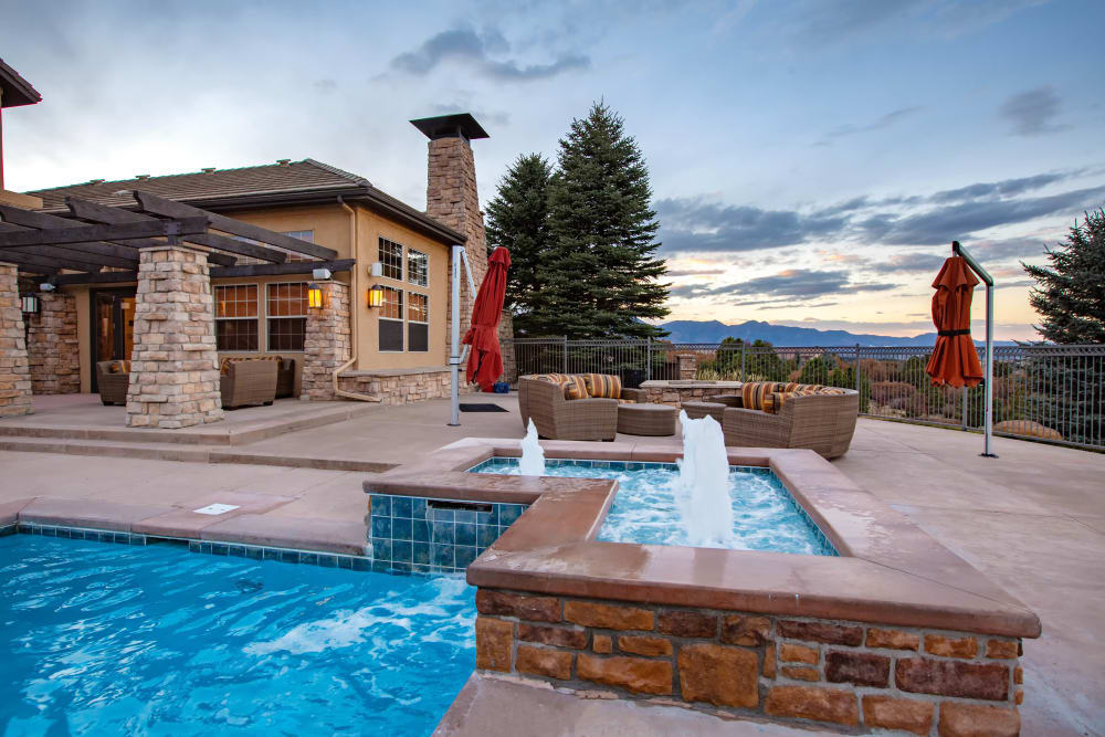 Our Apartments in Colorado Springs, Colorado offer a Swimming Pool