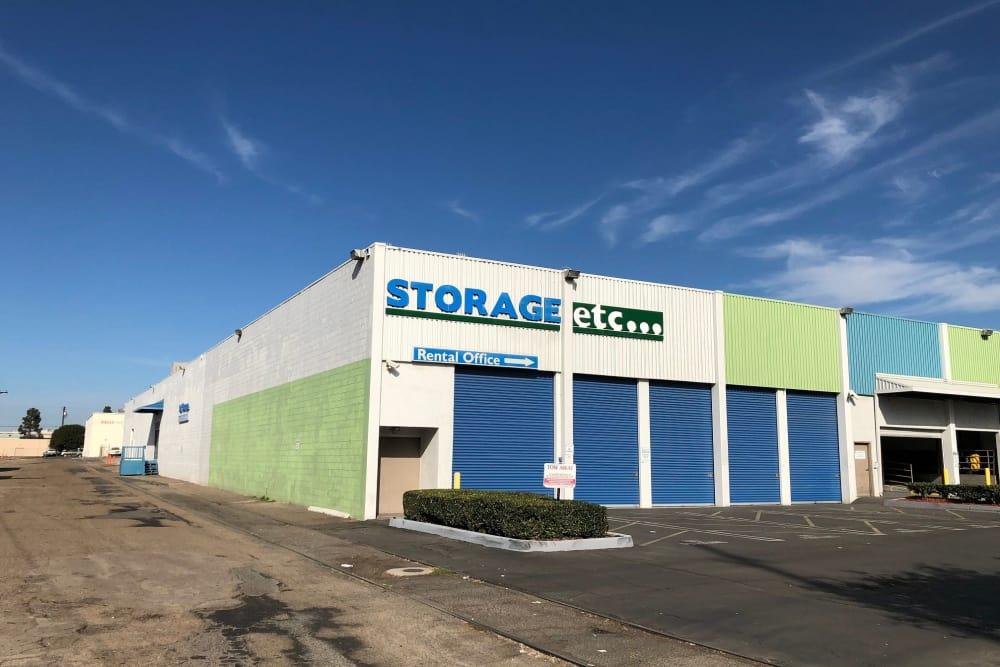 Drive Up Access Storage Units at Storage Etc Sherman St