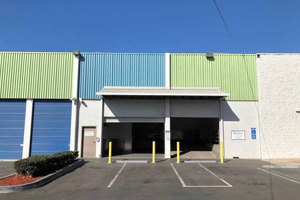 Storage Facility Loading Docks at Storage Etc Sherman St