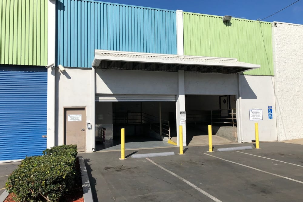 Storage Loading Docks at Storage Etc Sherman St
