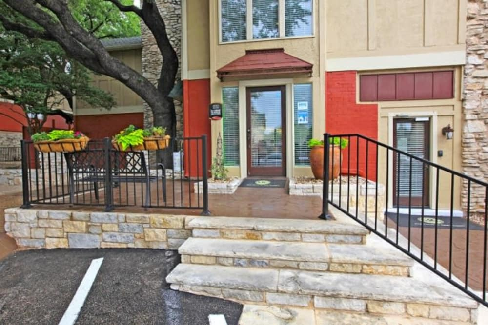 Leasing office at Bridge at Terracina in Austin, Texas