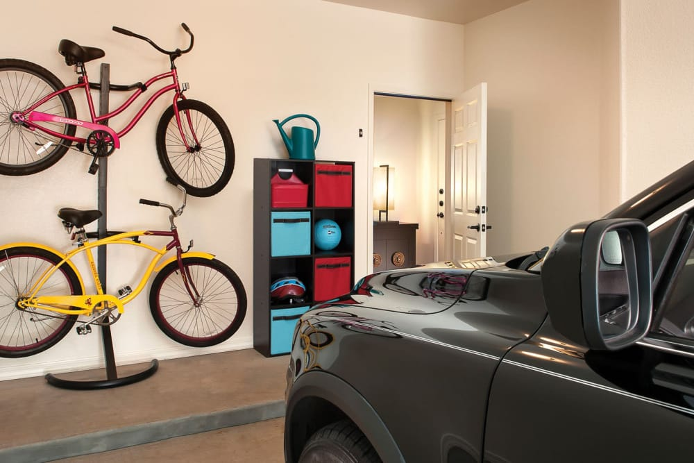 Private garage at San Milan in Phoenix, Arizona