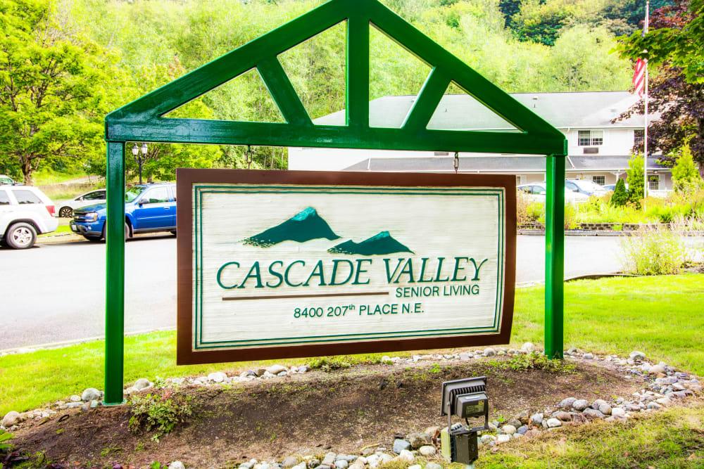 Welcome to Cascade Valley Senior Living in Arlington.