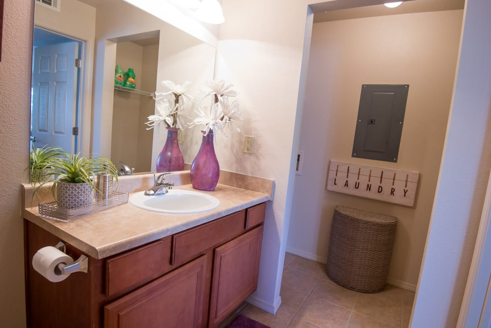 Villas at Aspen Park offers large bathrooms in Broken Arrow, Oklahoma