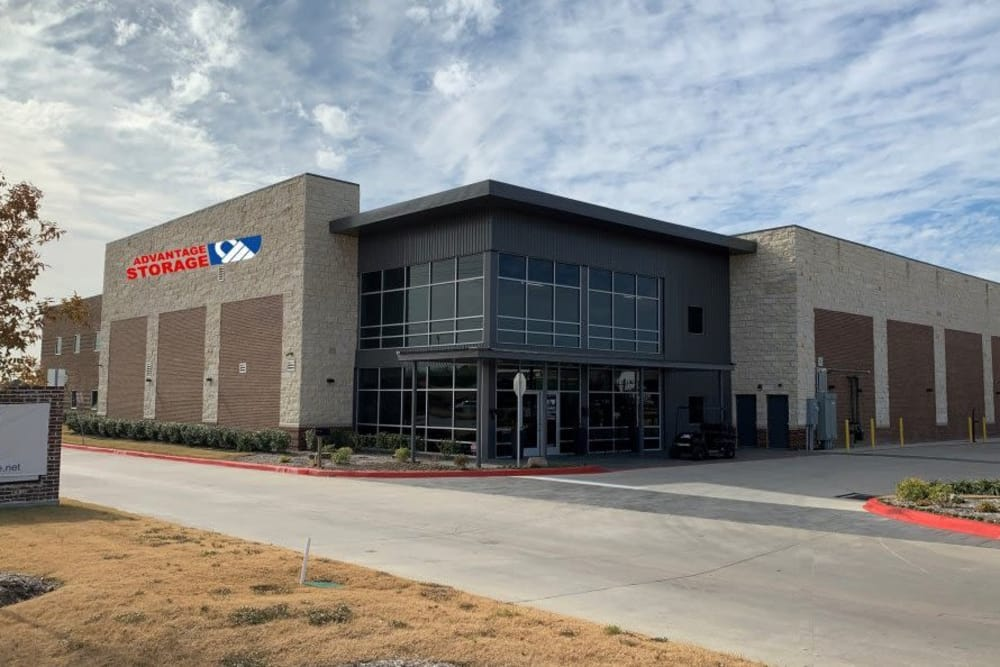 Exterior view of Advantage Storage -  Panther Creek in Little Elm, Texas