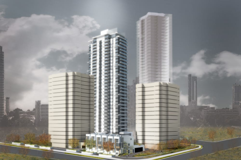 Proposed development of Parkview Development in Burnaby, British Columbia