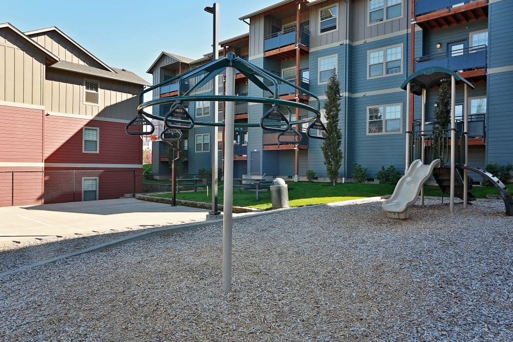 Orchard Ridge offers a playground area in Salem, Oregon