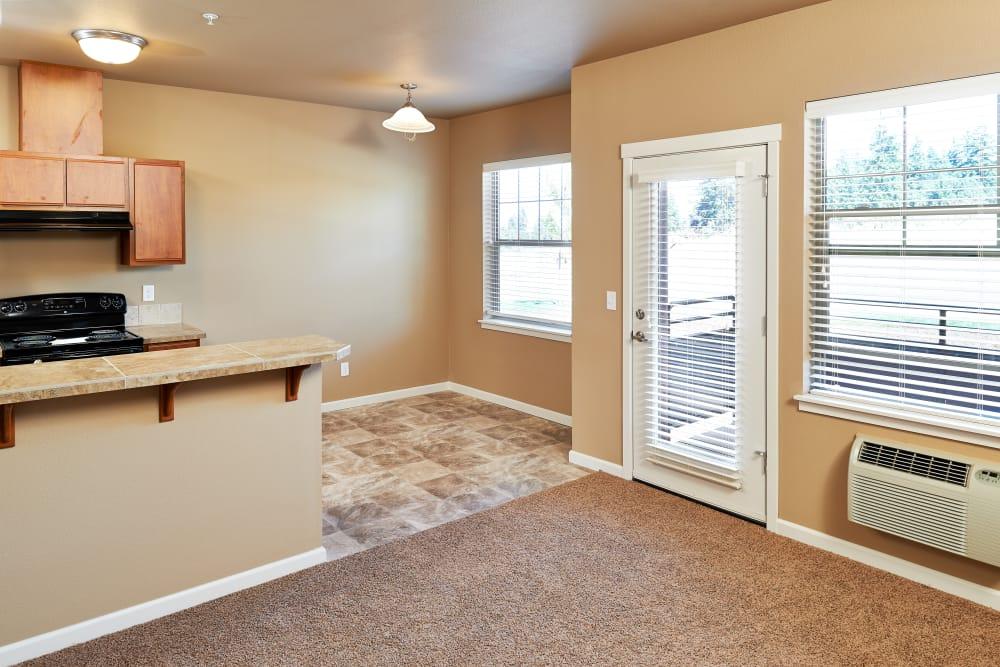 Living area at Orchard Ridge in Salem, Oregon