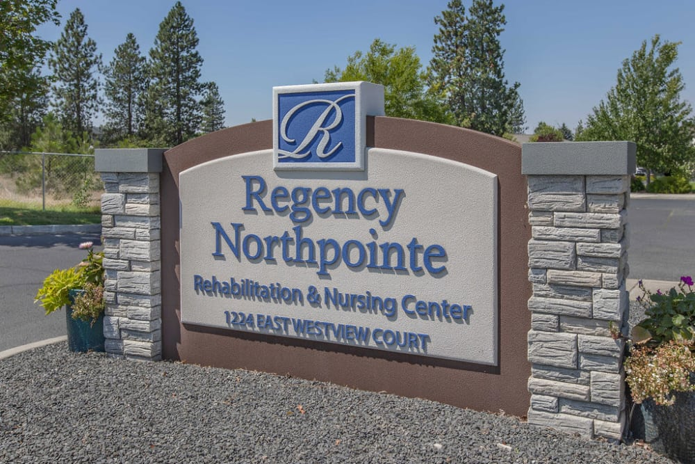 community sign at Regency at Northpointe