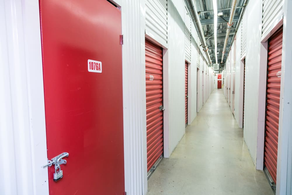 Interior units at White Rock U-Lock Mini Storage in Surrey, BC