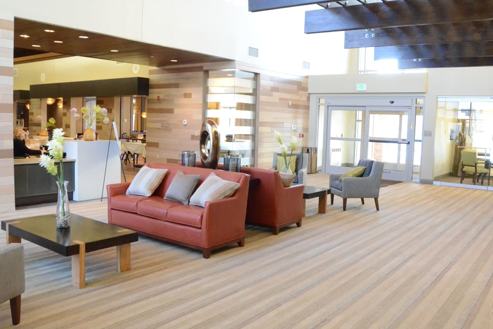 Lobby at The Springs at Lafayette in Lafayette, Indiana