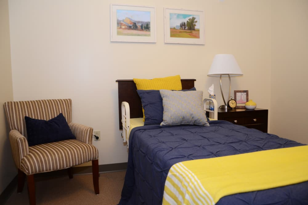 Bedroom at The Springs at Lafayette in Lafayette, Indiana