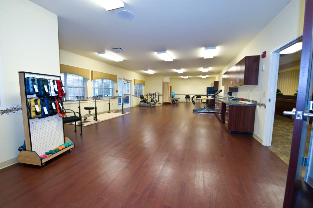 Fitness Center at The Meadows of Ottawa in Ottawa, Ohio