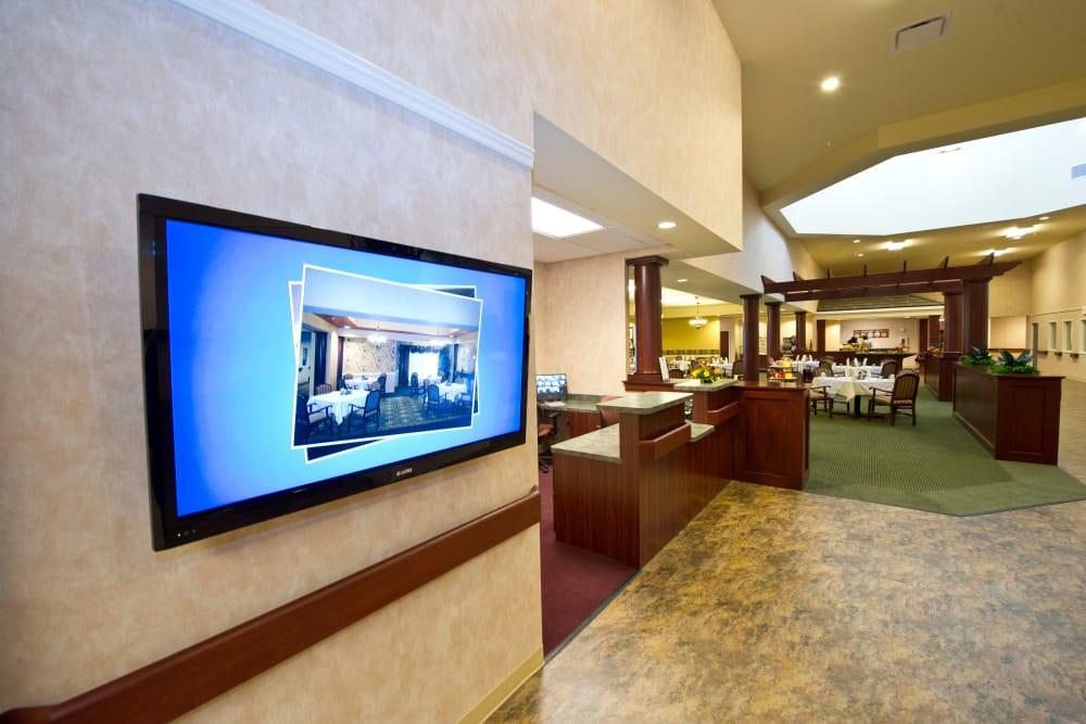 Common Area at Senior Living Facility in Zanesville, Ohio