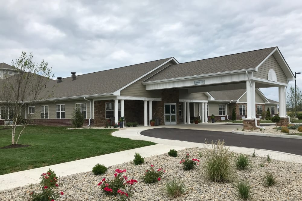Entrance/Foyer at Senior Living Facility in Lima, Ohio