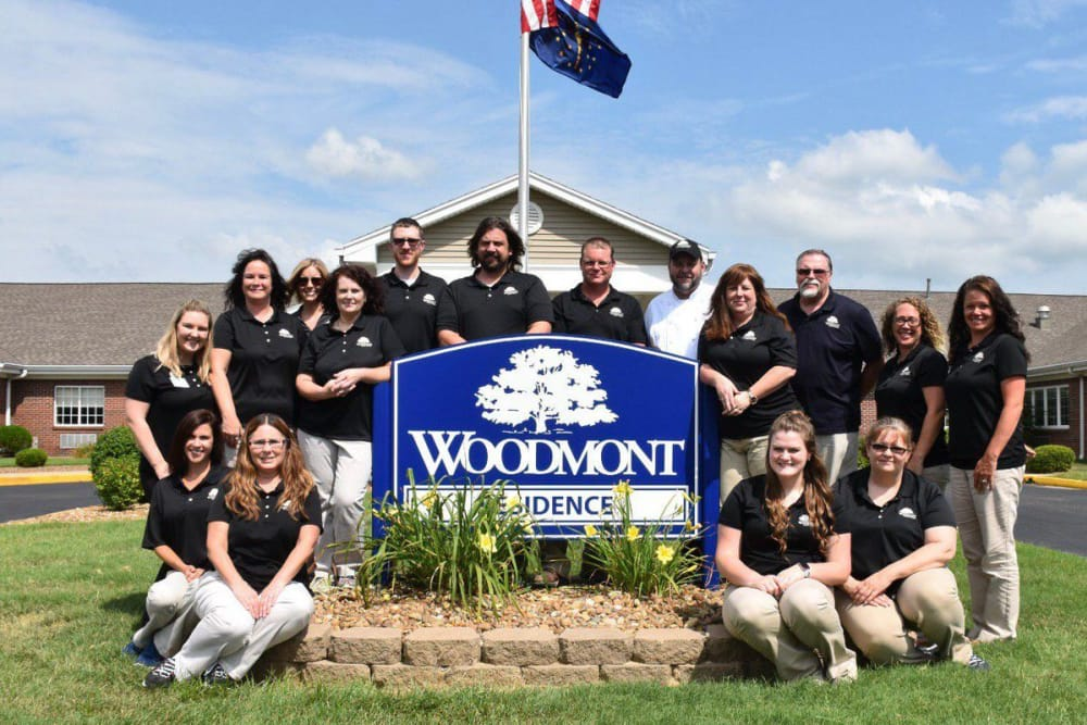 Branding and signage at Woodmont Health Campus in Boonville, Indiana