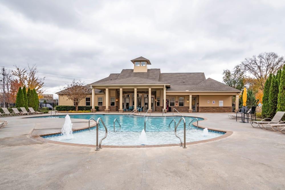 Pool atRichland Falls