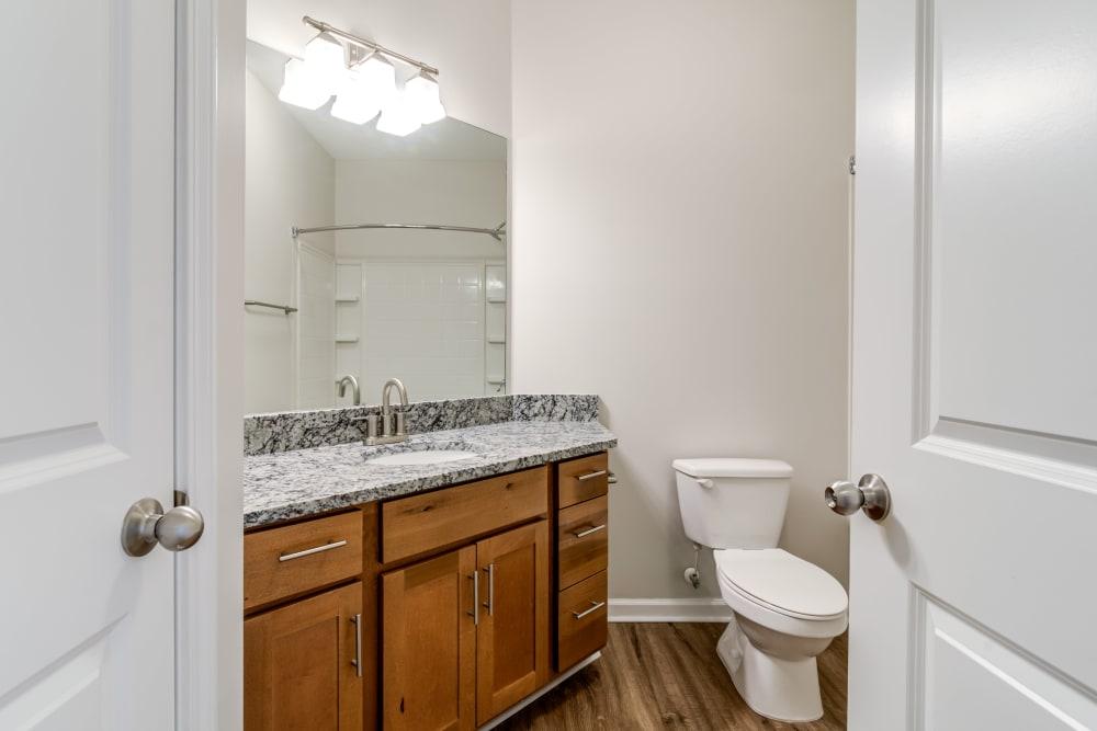 Bathroom at Richland Falls