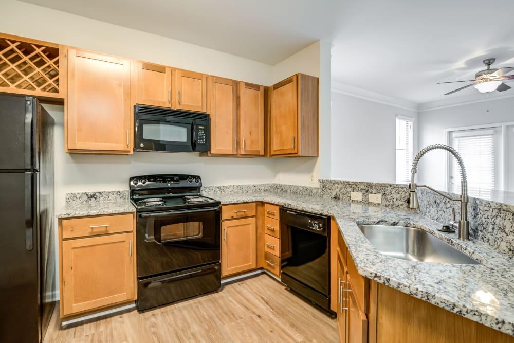 Kitchen at Richland Falls