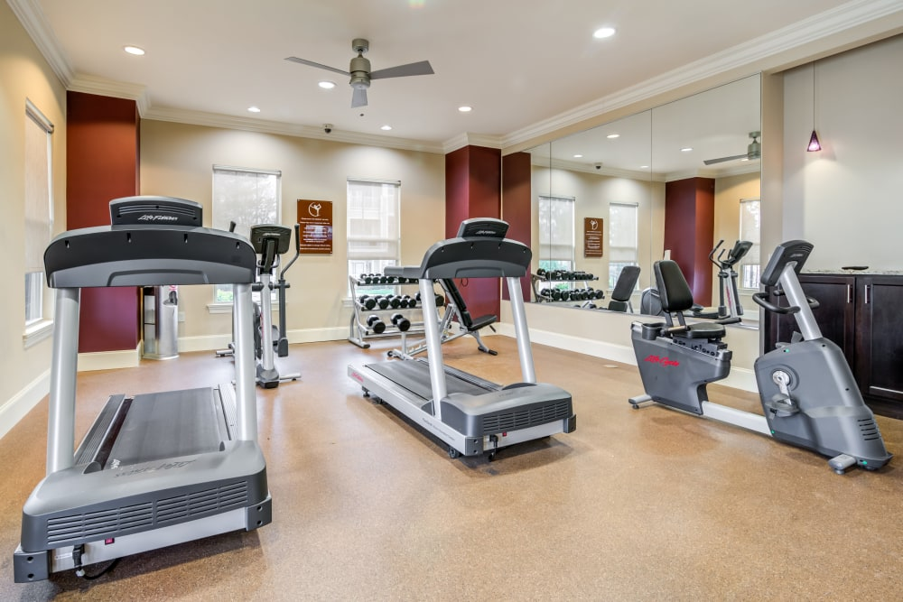Exercise equipment and Gym at Richland Falls