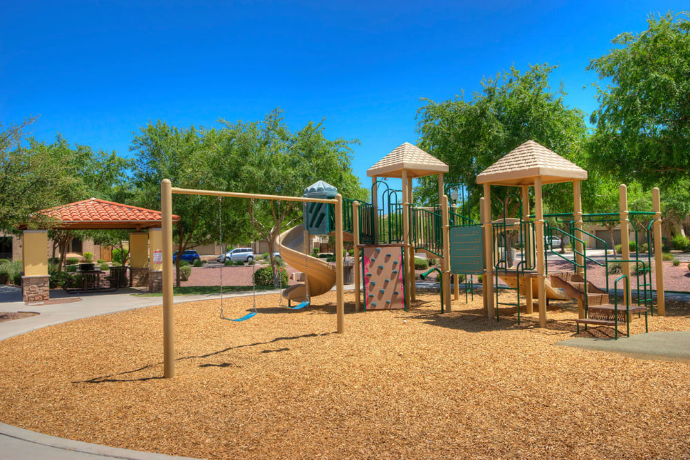 Onsite playground at BB Living at Val Vista in Gilbert, Arizona