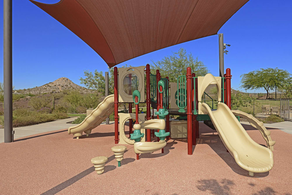 Community playground at Vistancia in Peoria, Arizona