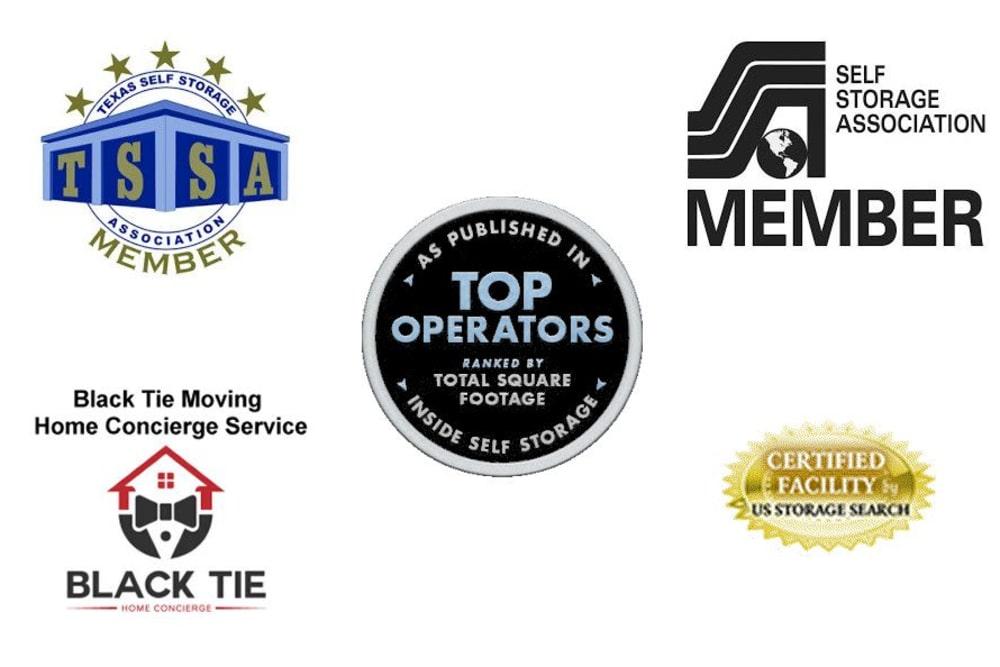 Awards of Advantage Storage - Arlington in Texas