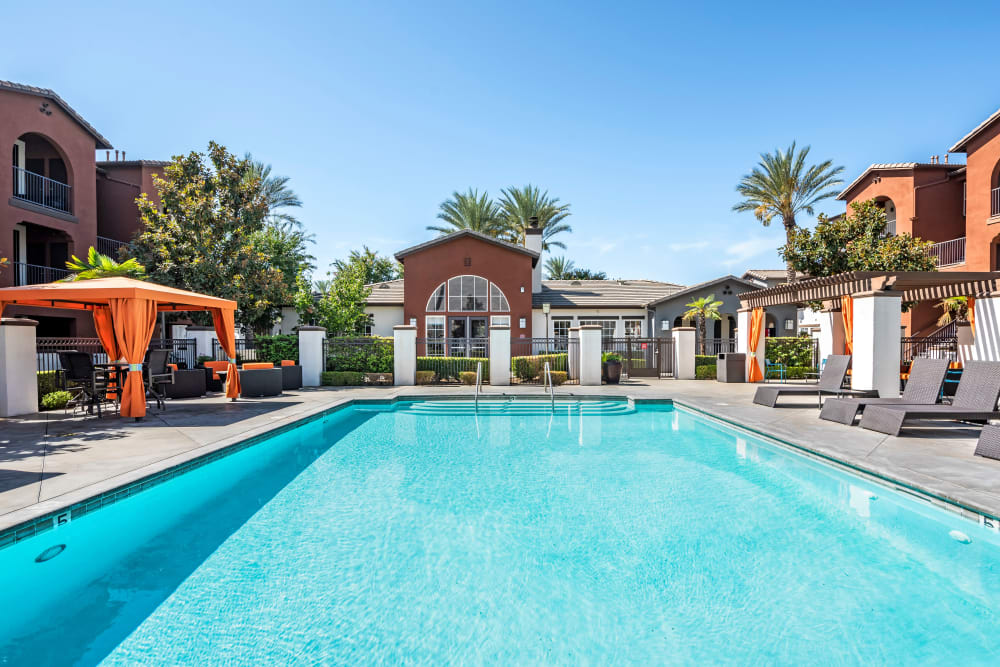 Pool at Vista Imperio Apartments