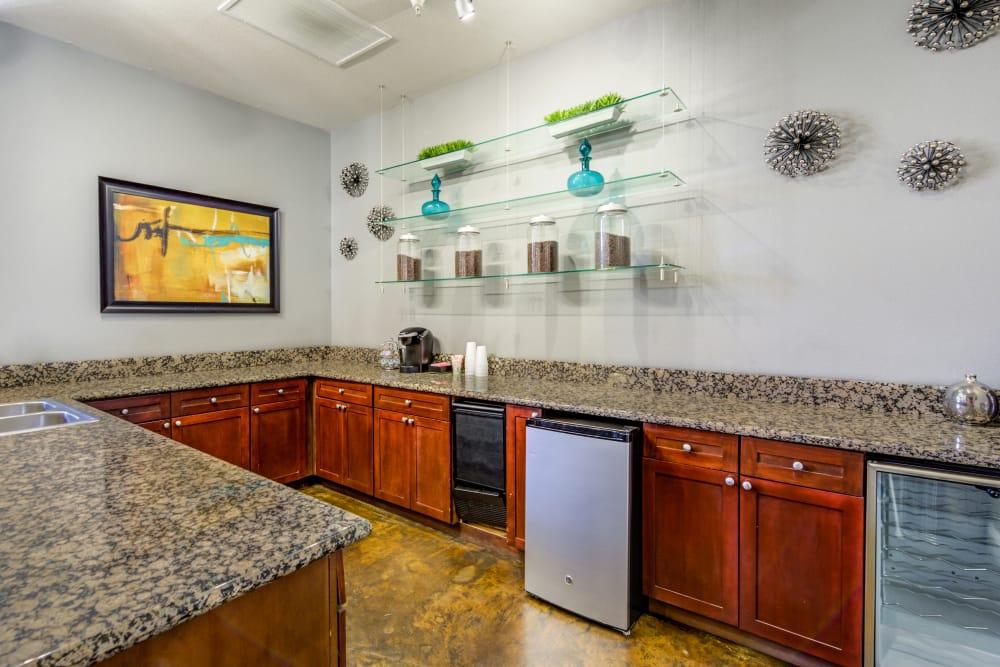 Spacious Kitchen floor plan at Vista Imperio Apartments