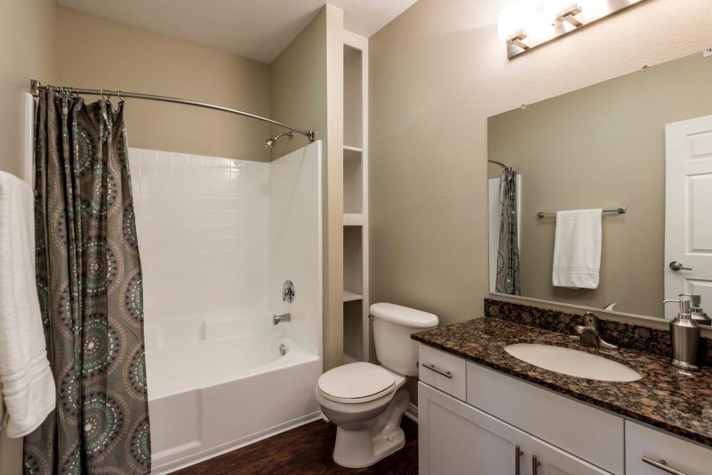 Bathroom at Vista Imperio Apartments